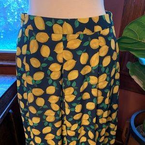 The Limited Lemon Skirt
